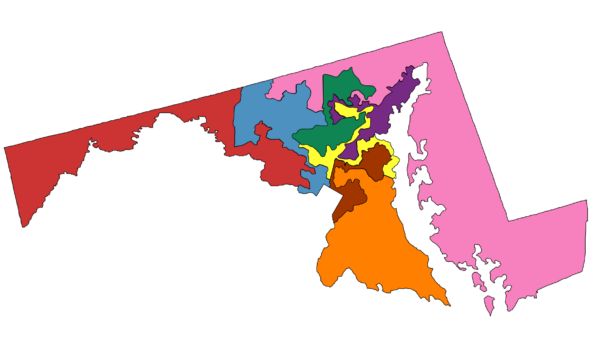 Maryland House districts